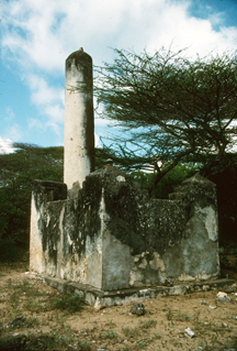 Pillar Tomb at Takwa, north Kenya coast