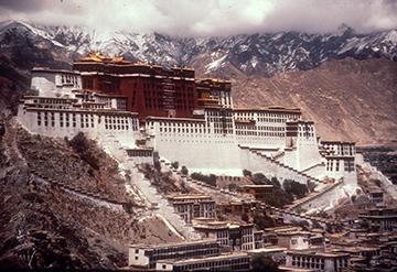Portala Palace, Lhasa, Tibet